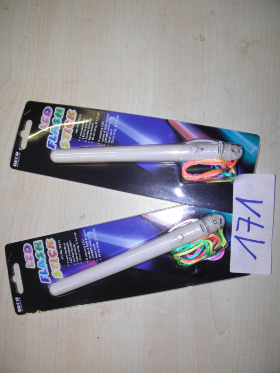 Pos. 171: Led Flash Sticks